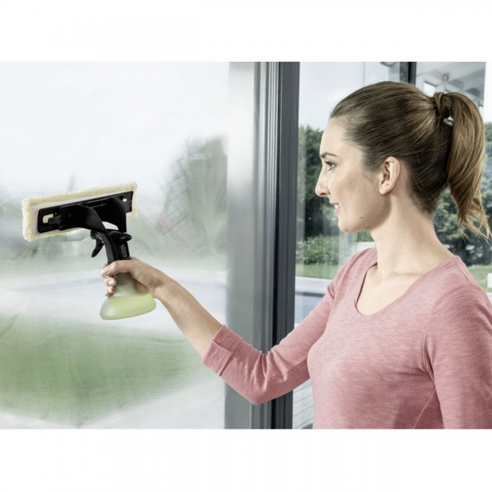 Комплект спрей-бутилка Premium за уред за прозорци WV