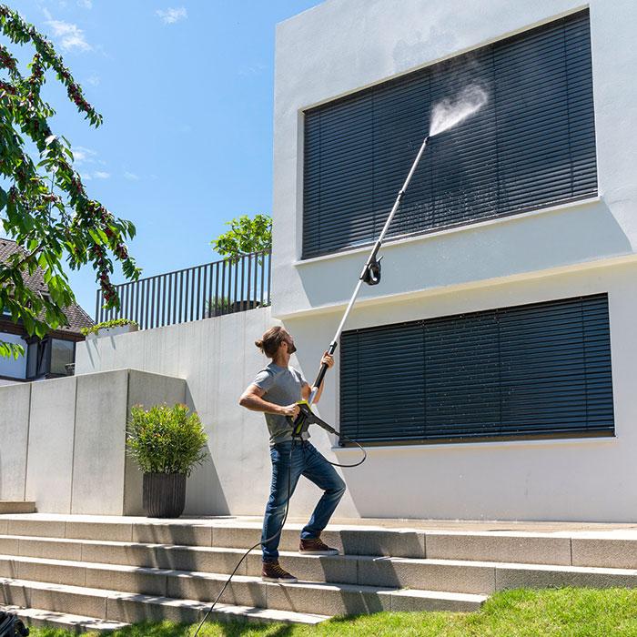 Комплект за почистване на фасади и стъкла
