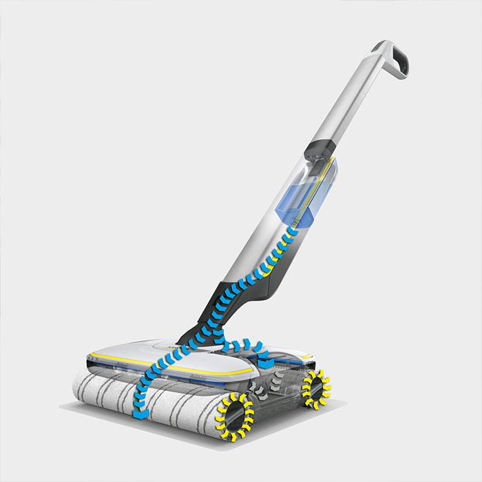 Подочистачка с батерия Karcher FC 7 Cordless Premium