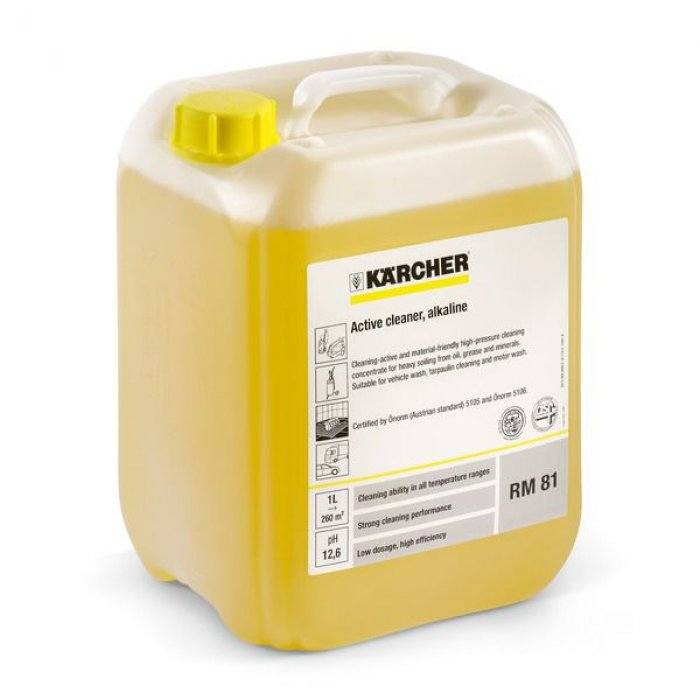 Активен почистващ препарат, алкален RM 81 ASF - 10 литра